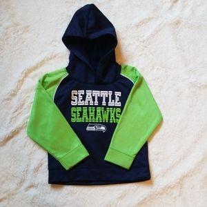 NFL Seahawks sweatshirt 4T